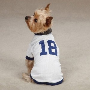 Peyton Manning dog t on Bark and Swagger