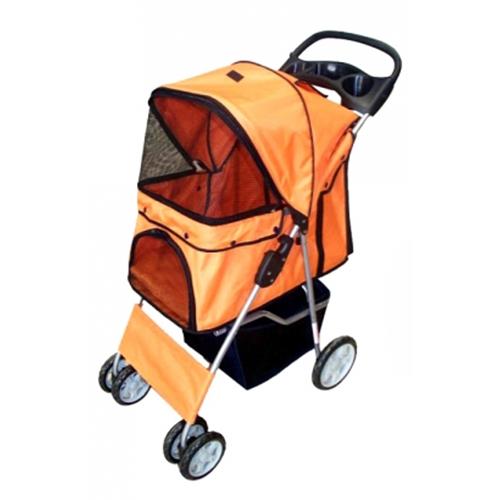 designer_dog_stroller_orange