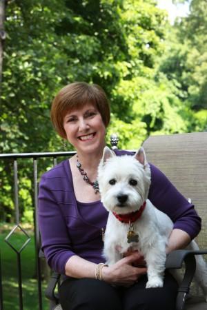 Dr. Debra Horwitz  with Oscar