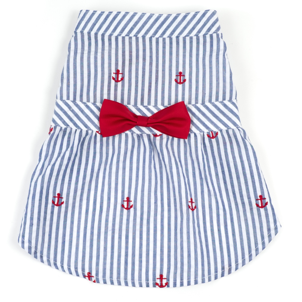 1a655e1ddbb Want summer fashion ideas for your dog  Discover these adorable madras and  seersucker dresses and